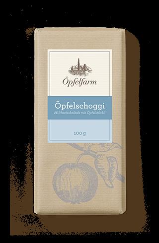 Öpfelschoggi-Milch